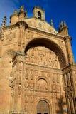 San Esteban Convent in Salamanca Spain Royalty Free Stock Photo
