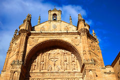 San Esteban Convent in Salamanca Spain Royalty Free Stock Photography