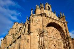 San Esteban Convent in Salamanca Spain Stock Images