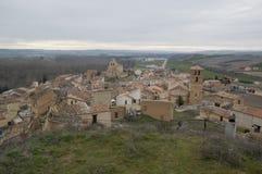 San Esteban De Gormaz from the castle Stock Images
