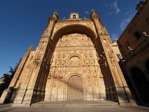 San Esteban's convent, Salamanca, Spain Royalty Free Stock Images