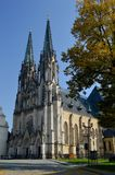1 san esteriore Wenceslas Cathedral Olomouc Czech Republic immagine stock