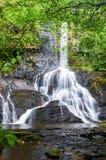 San Estevo gör den Ermo vattenfallet Arkivfoto