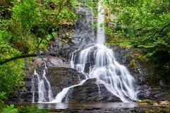 San Estevo gör den Ermo vattenfallet Fotografering för Bildbyråer