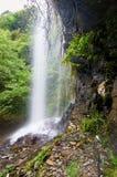 San Estevo gör den Ermo vattenfallet Arkivfoton
