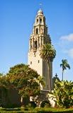 san för balboaKalifornien diego park torn Arkivfoto