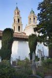 san för kyrkogårddolores francisco beskickning statyer Arkivbild