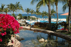san för semesterort för cabolucas mexico hav sikt Arkivfoto