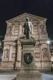 San Fedele Square a Milano Immagine Stock