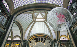 San Federico Gallery, Turin (Italien) Royaltyfria Bilder