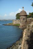 San Felip Del Morro Fort w Starym miasteczku, San Juan Zdjęcia Stock