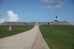 San Felip del Morro Forte na cidade velha, San Juan Fotos de Stock Royalty Free