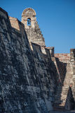San Felipe Castle in Cartagena de Indias. Castillo de San Felipe Stock Photos