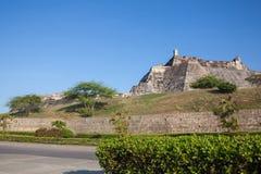 San Felipe Castle en Cartagena de Indias Imagen de archivo libre de regalías