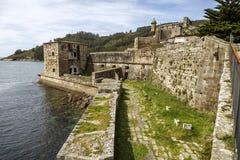 San Felipe castle in Ferril Galicia Stock Photography