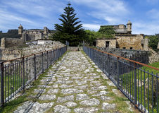 San Felipe castle in Ferril Galicia Stock Image