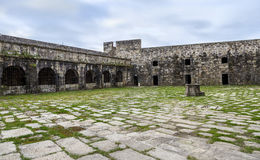 San Felipe castle in Ferril Galicia Royalty Free Stock Photos