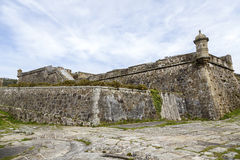 San Felipe castle in Ferril Galicia Stock Photo