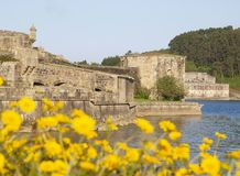 San Felipe castle in Ferrol Stock Image