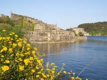 San Felipe castle in Ferrol Stock Images
