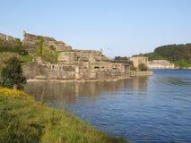 San Felipe castle in Ferrol, Spain. Stock Photos