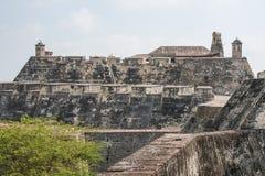 San Felipe de Barajas fästning Royaltyfri Fotografi