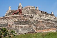 San Felipe de Barajas fästning Arkivbilder