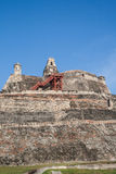 San Felipe de Barajas fortress Royalty Free Stock Images