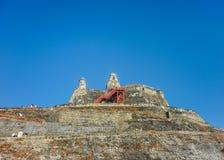 San felipe de Barajas Fortress Cartagena Colombia Royalty Free Stock Photo