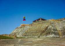 San felipe de Barajas Fortress Cartagena Colombia Royalty Free Stock Photography