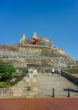 San felipe de Barajas Fortress Cartagena Colombia Royalty Free Stock Images
