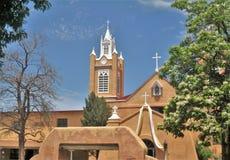 San Felipe de Neri Приход в Альбукерке стоковые фотографии rf