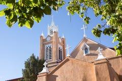 San Felipe de Neri Church in Spanish architectural style in Plaz Royalty Free Stock Photography