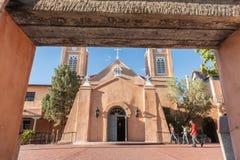 San Felipe de Neri Church in Spanish architectural style in Plaz Stock Photos
