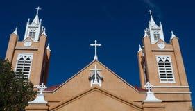 San Felipe de Neri Igreja Cidade velha, Albuquerque, nanômetro imagens de stock