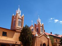 San Felipe de Neri Parish Royalty Free Stock Photos