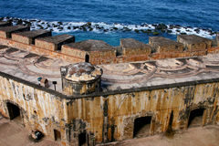 San Felipe del Moprro Castle. Old San Juan, Puerto Rico Royalty Free Stock Photo