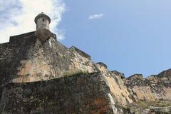 San Felipe del Morro Castle Walls 2 Royalty Free Stock Photography