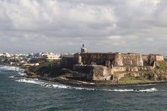 San Felipe Del Morro Fort w San Juan Puerto Rico Fotografia Royalty Free