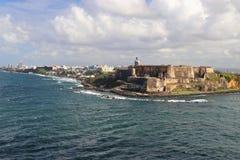 San Felipe Del Morro Fort w San Juan Puerto Rico Zdjęcie Royalty Free