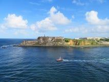 San Felipe Del Morro Fort w San Juan Puerto Rico Obrazy Royalty Free