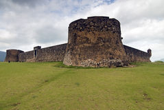 San Felipe Fortress , Dominican Rep. Royalty Free Stock Photos