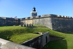 San Felipe Fortress in Old San Juan Puerto Rico royalty free stock images