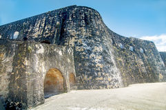 San Felipe Fortress, Puero Rico Royalty Free Stock Photography