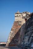 San Felipe kasztel w Cartagena De Indias Fotografia Stock