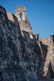 San Felipe kasztel w Cartagena De Indias Zdjęcia Stock