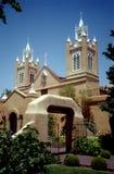 San Felipe Kirche-Neues Mexiko stockfotos