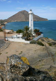 San Felipe Lighthouse Mexico. San Felipe lighthouse looking out over the Gulf Royalty Free Stock Photography