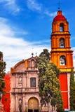 San Felipe Neri Church San Miguel Miguel de Allende Mexico. Templo Del Oratorio De San Felipe Neri Church Facade San Miguel de Allende, Mexico. Built in 1700s royalty free stock photo