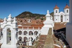 San Felipe Neri Monastery Terrace - Sucre, Bolivien stockfotografie